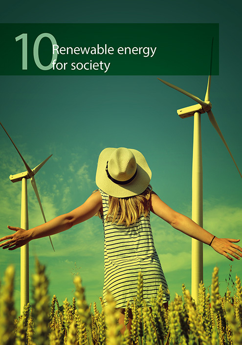 Renewable energy for society